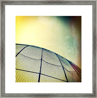 Baseball Field 8 Framed Print by YoPedro