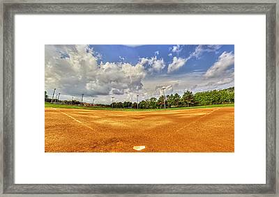 Baseball Field Framed Print