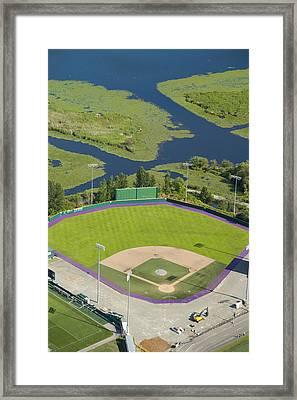 Baseball Field, University Framed Print by Andrew Buchanan/SLP