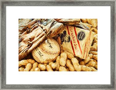 Baseball Fundamentals Framed Print