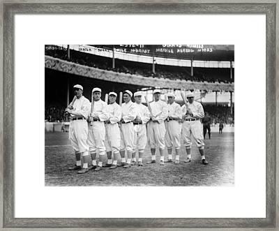 Baseball Giants, C1910 Framed Print