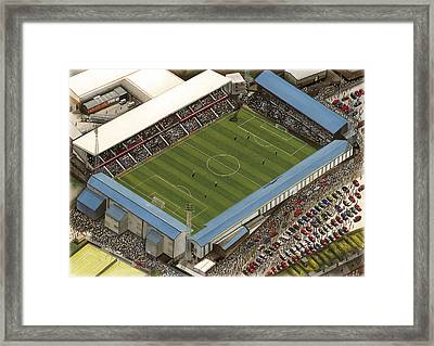 Baseball Ground - Derby County Framed Print by Kevin Fletcher