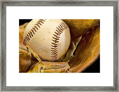 Baseball Has Been Very Good To Me Framed Print by Don Schwartz