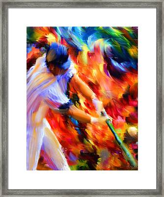 Baseball IIi Framed Print