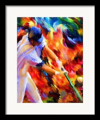Baseball Fanatics Framed Prints