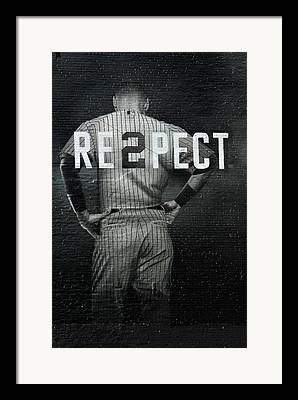 Derek Jeter Framed Prints