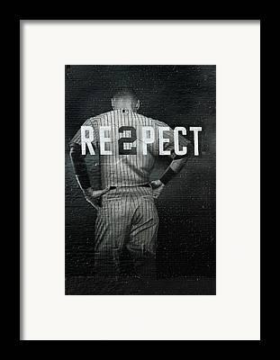 Baseball Framed Prints