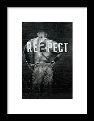 Baseball Players Framed Prints