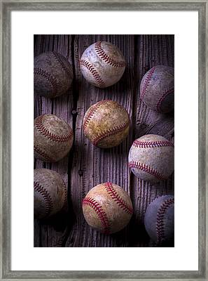 Baseball Memories Framed Print