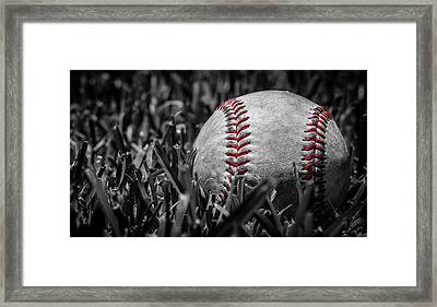 Baseball Nostalgia Series Number Two Framed Print by Kaleidoscopik Photography