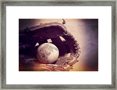 Baseball Season Framed Print by Dan Sproul