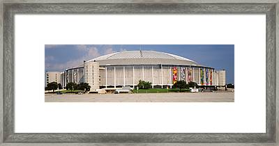 Baseball Stadium, Houston Astrodome Framed Print by Panoramic Images