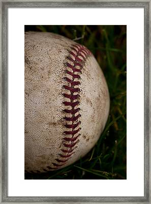 Baseball - The National Pastime Framed Print by David Patterson