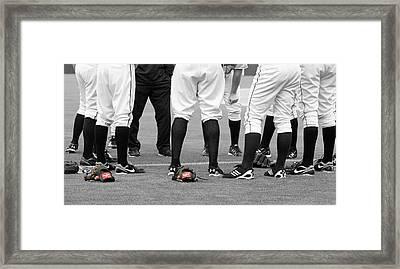 Baseball Framed Print by Thomas Fouch