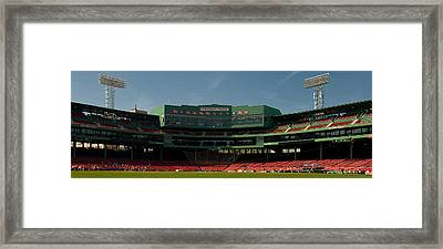 Baseballs Hollowed Ground Framed Print by Paul Mangold