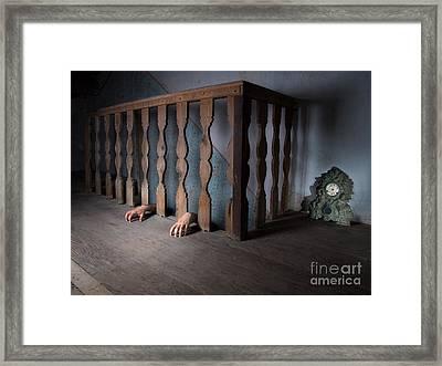 Basement Framed Print