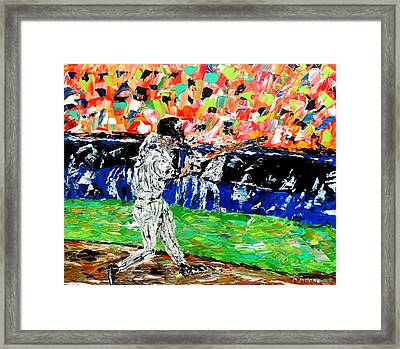 Bases Loaded  Framed Print by Mark Moore