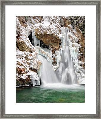 Bash Bish Falls Framed Print by Bill Wakeley