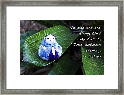 Basho Haiku 1 Framed Print by William Patrick
