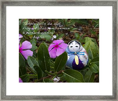Basho Haiku 2 Framed Print by William Patrick