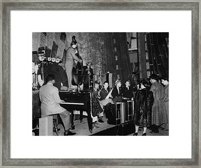 Basie Orchestra, C1941 Framed Print by Granger
