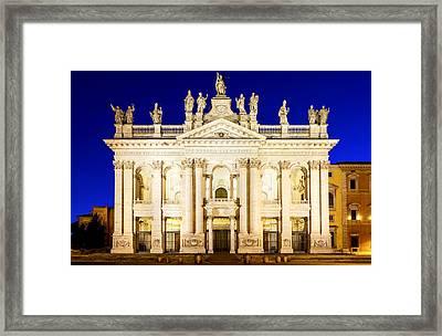 Basilica Di San Giovanni In Laterano Framed Print