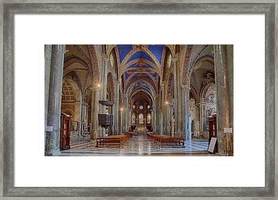 Basilica Di Santa Maria Sopra Minerva Framed Print