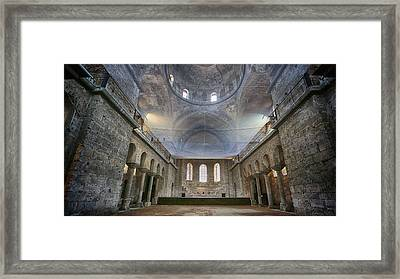 Basilica Of Holy Peace Framed Print by Stephen Stookey