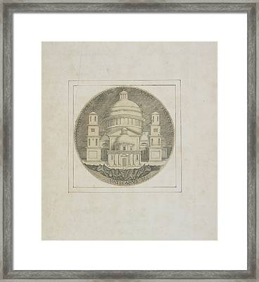 Basilica Of Saint Peter Framed Print by British Library