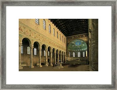 Basilica Of Santapollinare In Classe Framed Print by Everett