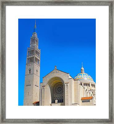 Basilica Of The National Shrine Framed Print