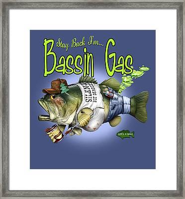 Basin Gas Framed Print by Jim Baldwin