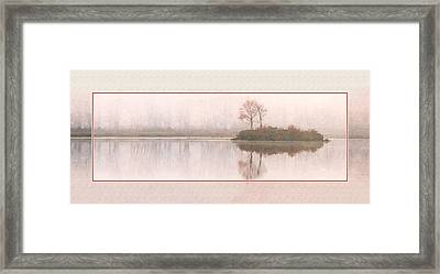 Basin Pond Water Color Framed Print
