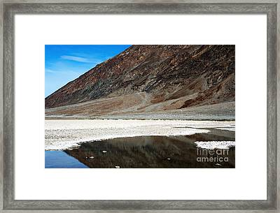 Basin Reflection Framed Print by John Rizzuto