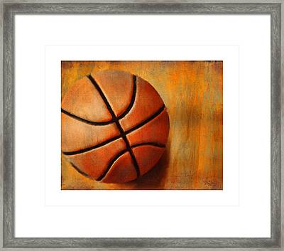 Basket Ball Framed Print
