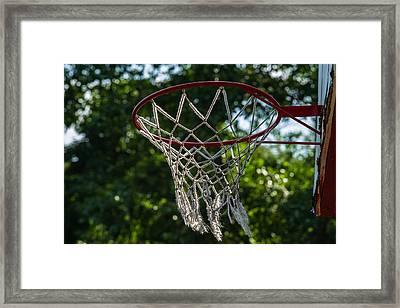 Basket - Featured 3 Framed Print by Alexander Senin
