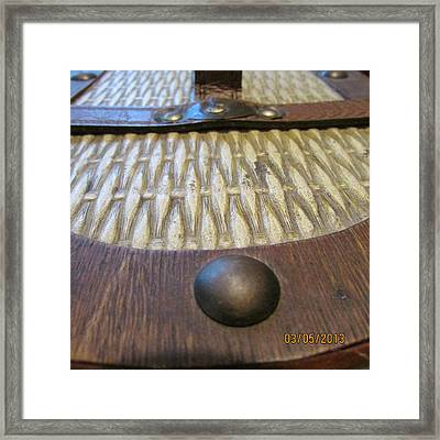 Basket Weave Framed Print by Jaime Neo