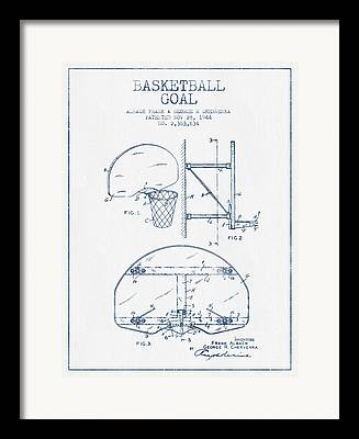 Basketball Playoffs Framed Prints
