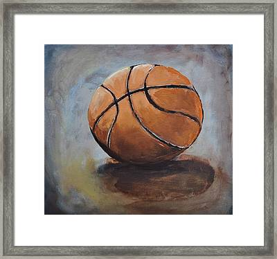 Basketball  Framed Print by Shannon Lee