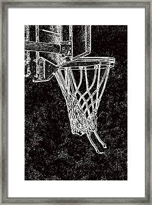 Basketball Years Framed Print by Karol Livote