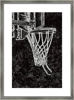Basketball Years Framed Print by Karol Livote