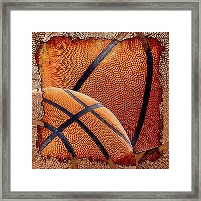Basketballs  Framed Print