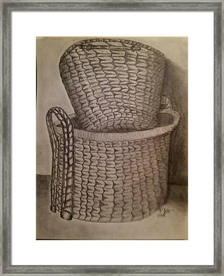 Baskets Framed Print by Irving Starr