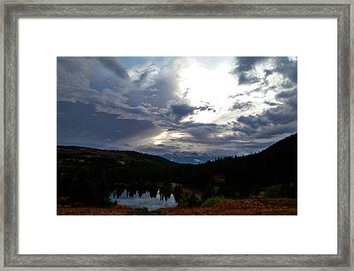 Basking In Twilight Framed Print by Jeremy Rhoades