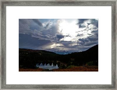 Basking In Twilight Framed Print