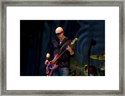 Bass  Guitar Framed Print by Tony Reddington