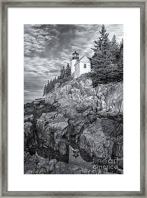 Bass Harbor Head Light Iv Framed Print