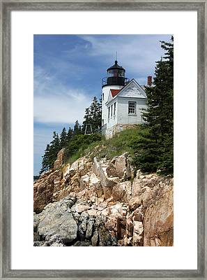Bass Harbor Light Framed Print by Acadia Photography