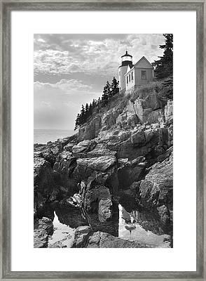 Bass Harbor Light Framed Print by Mike McGlothlen
