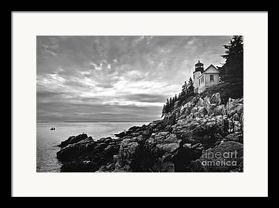 Bass Harbor Lighthouse Framed Prints
